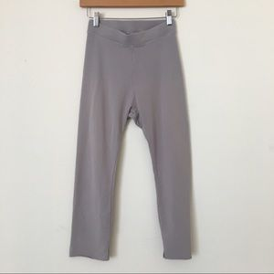 FRANK & EILEEN Tee Lab Crop Leggings Grey XS